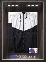 Custom Design Hot sales outdoor waterproof zip Plain Contrast Color Kids running Jacket