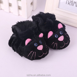 sz16-0015 black cat baby shoes wholesale china importers buy shoes direct from china
