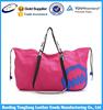 shoulder canvas shopping travel duffel bag