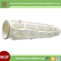 Alibaba china supplier Polyester fabric filter bag