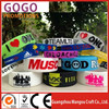 fashional beautiful eco-friendly cheap custom personalized promotional silicone bracelet wrist bands,Free sample silicon band