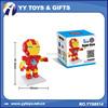 HSANHE Marvel Avenger Super Hero 3D Pizzle Plastic Building Blocks Brick Educational Toys For Kids