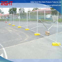New Technolog Low Carbon Steel Portable Temporary Fencing For Dogs