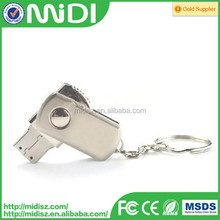 Metal Swivel flash usb drive 128gb usb flash drive for kingston