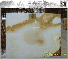 Marble from iran white onyx yellow onyx slab price