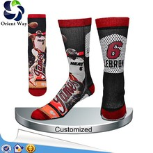 all over print boot custom sublimation sock