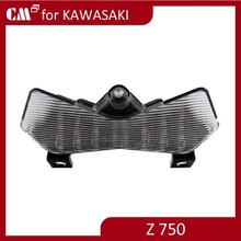 For Kawasaki Z750 Z1000 clear lens motorcycle led tail lights