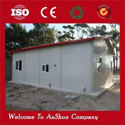 Well-designed movable steel prefab house home special container