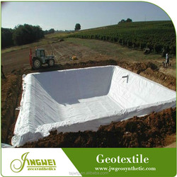 Water permeable hot sale PET geotextile