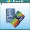 Scratch prepai plástica cr80 cartão de telefone pin
