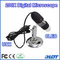 Microscopio digital del usb 25x-200x
