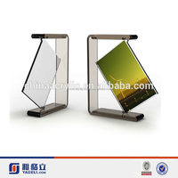 Acrylic clear photo frame cutting machine prices with supporter on bottom