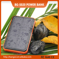 10000Mah waterproof Solar Charger with shockproof , dustproof function and LED lights