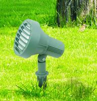 CE UL CUL SAA Outdoor COB 9W 12W Garden Spike Light IP65