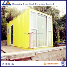 Temporary Office Decorated Prefabricated Container House