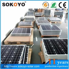 SOKOYO high efficiency solar cell 280watts solar panel price list