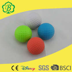 42mm pu golf practice golf balls, funny golf balls, small golf balls