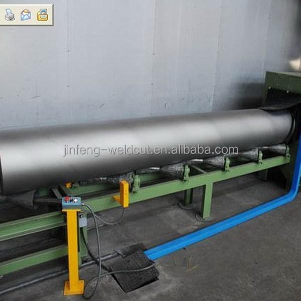 Steel H I C BOX pipe plate sand blasting shot blasting machine