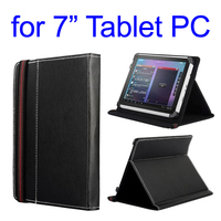Paypal Accepted High Quality Flip Stand Leather Universal 7 inch Tablet Case