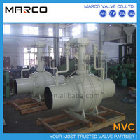 High quality oem service fully welded long and extended stem buried underground ball valve