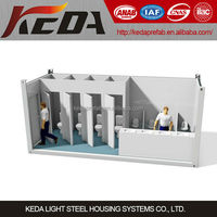 Easy to install design Toilet Container, Container Bathroom, Prefab Ablution
