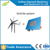 Low start high efficient output low noise low vibration 1500w 1kw horizontal axis small wind power turbine generator for sale CE