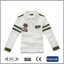 fashion hotsale cheap price white polo kids plain tshirts