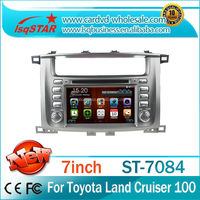 Toyota land cruiser 100 dvd gps/car gps dvd player toyota land cruiser 100 series/ wince car dvd toyota land cruiser 100