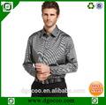 orgánica de algodón para hombre camisas de vestir de algodón egipcio camisa de vestir vestido único camisas