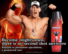 2015 New! 100ML COKELIFE Delay Personal Lubricant and best sex product---C0005