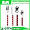 Polka Dot Handle Stainless Steel Cutlery Set