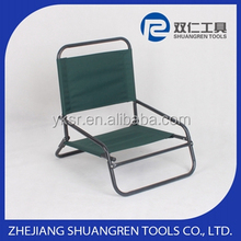 Low price latest outdoor setting metal strap beach chair