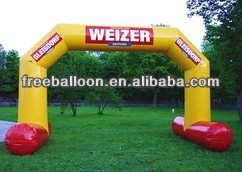 Airtight inflatable arch for advertising