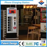 Money making machine! Floor standing high end locker universal mobile phone charging station for public APC-06B