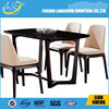 New style MDF dining table with marble,japanese restaurant furniture