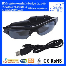 Hot Selling Mini Hidden Sunglasses Camera with Waterproof and Glasses Video Function