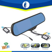 5 Inch Android 4.1 System wireless wifi GPS bluetooth wifi rearview parking car mirror