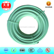 White color non-braided silicone coated electrical cable