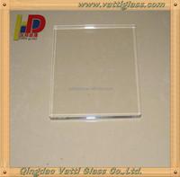 high quality transparent fireproof glass for fireplace door/ceramic glass/ceramic fireplace glass