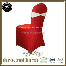 Factory Price White Spandex Chair Cover / Popular Lycra Chair Cover