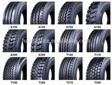 R22.5 R24.5 1200R24 Tubeless and inner tube truck tires good tread depth