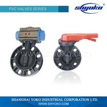 Medium pressure high quality water 4 inch pvc valve