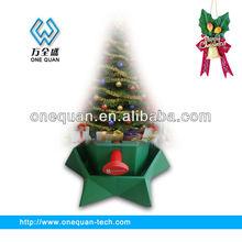 Round and Star Shape Christmas tree display stand for Christmas Holiday