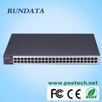 Rundata 4 SFP port 48 gigabit port ethernet switch