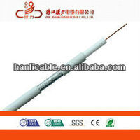 Low loss digital CATV system coaxial cable RG6 cable