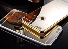 Hot Products for iphone 6 metal bumper mirror case metal case for mirror iphone 6 case