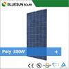 Hot sale high quality poly 300w solar panel price per watt price list