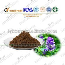 Sexo puro extracto de alfalfa extracto en polvo/lucerna p. E/kava kava root extract30%
