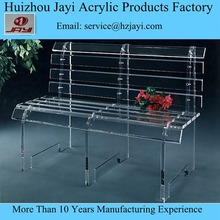 modern clear acrylic lucite school bench for sale