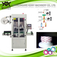 Automatic Drug and Medicine Bottle Mouth Heat Shrink Sleeve Trapping or Labeling Machine